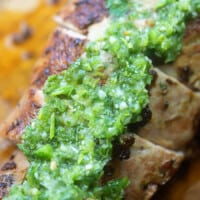 Chimichurri Pork Tenderloin