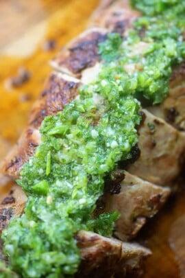 A piece of broccoli