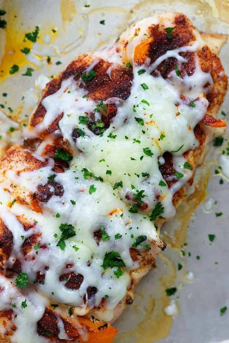 Hasselback Chicken Fajitas