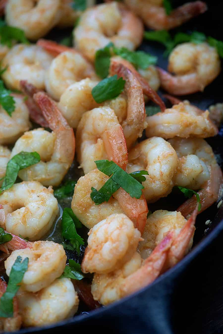 Cilantro Lime Shrimp - ready in about 10 minutes and so full of flavor! #lowcarb #keto