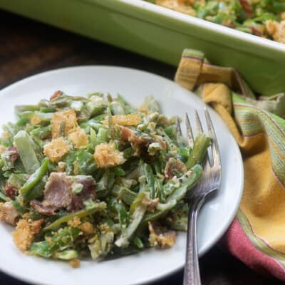 Green bean casserole recipe!