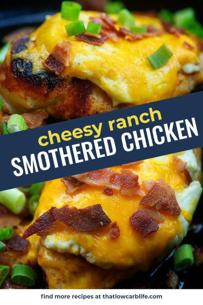 cheeys ranch chicken collage.