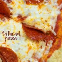 Pepperoni Fathead Pizza