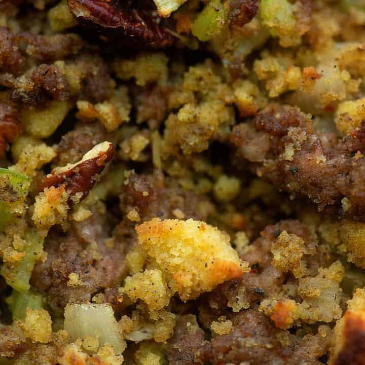 Low Carb Cornbread Stuffing