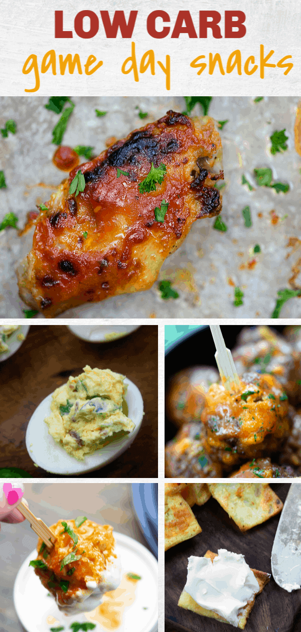 Game Day Snacks That Low Carb Life