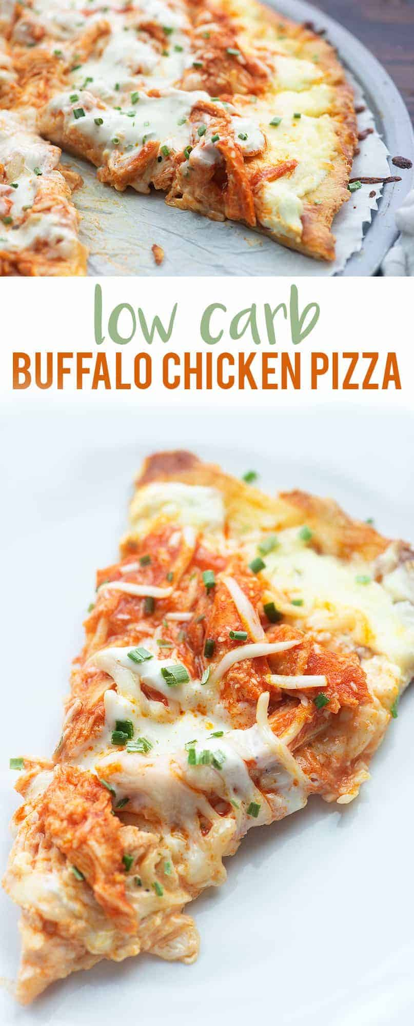 Buffalo Chicken Pizza