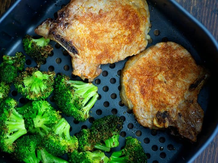 roasted broccoli in air fryer