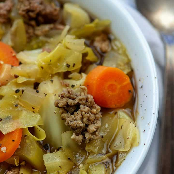 Crockpot Cabbage Soup With Beef That Low Carb Life