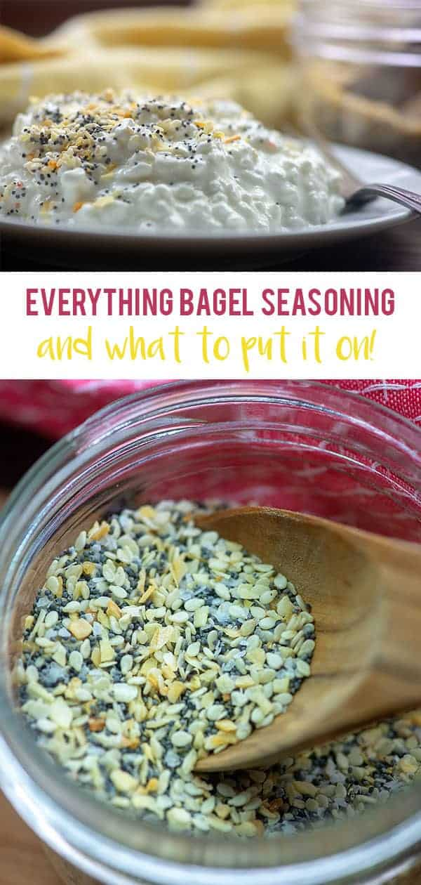 Everything Bagel Seasoning - and my favorite ways to use it!! It's not just for bagels! #recipes #lowcarb #keto