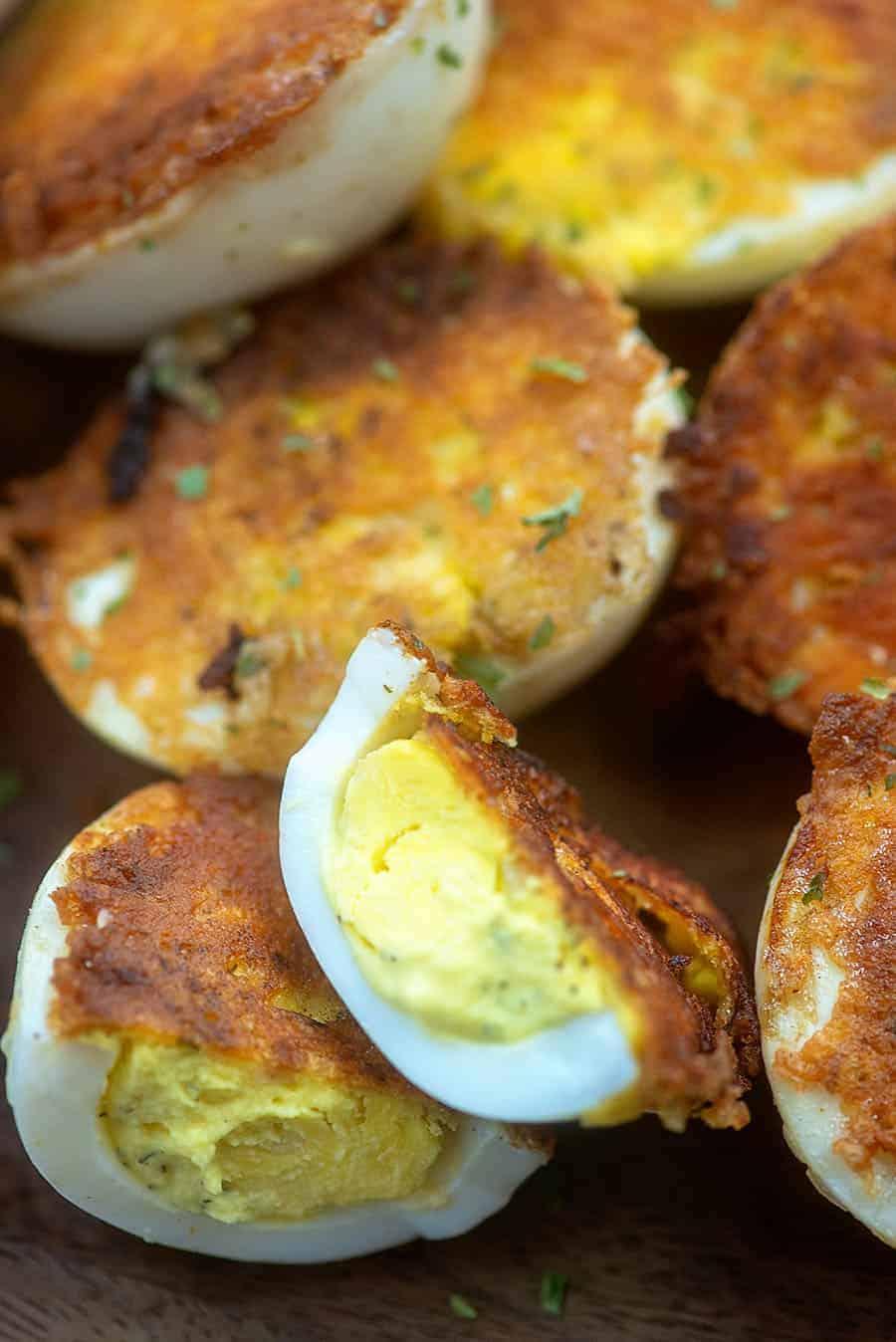 low carb deviled eggs