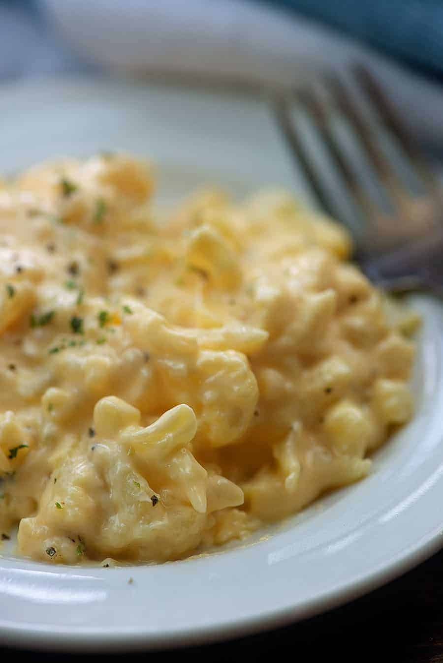 Cauliflower Mac and Cheese | That Low Carb Life