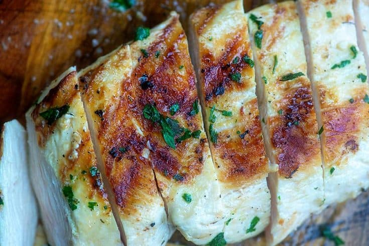 Ranch Grilled Chicken
