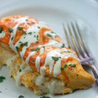 Stuffed Buffalo Chicken