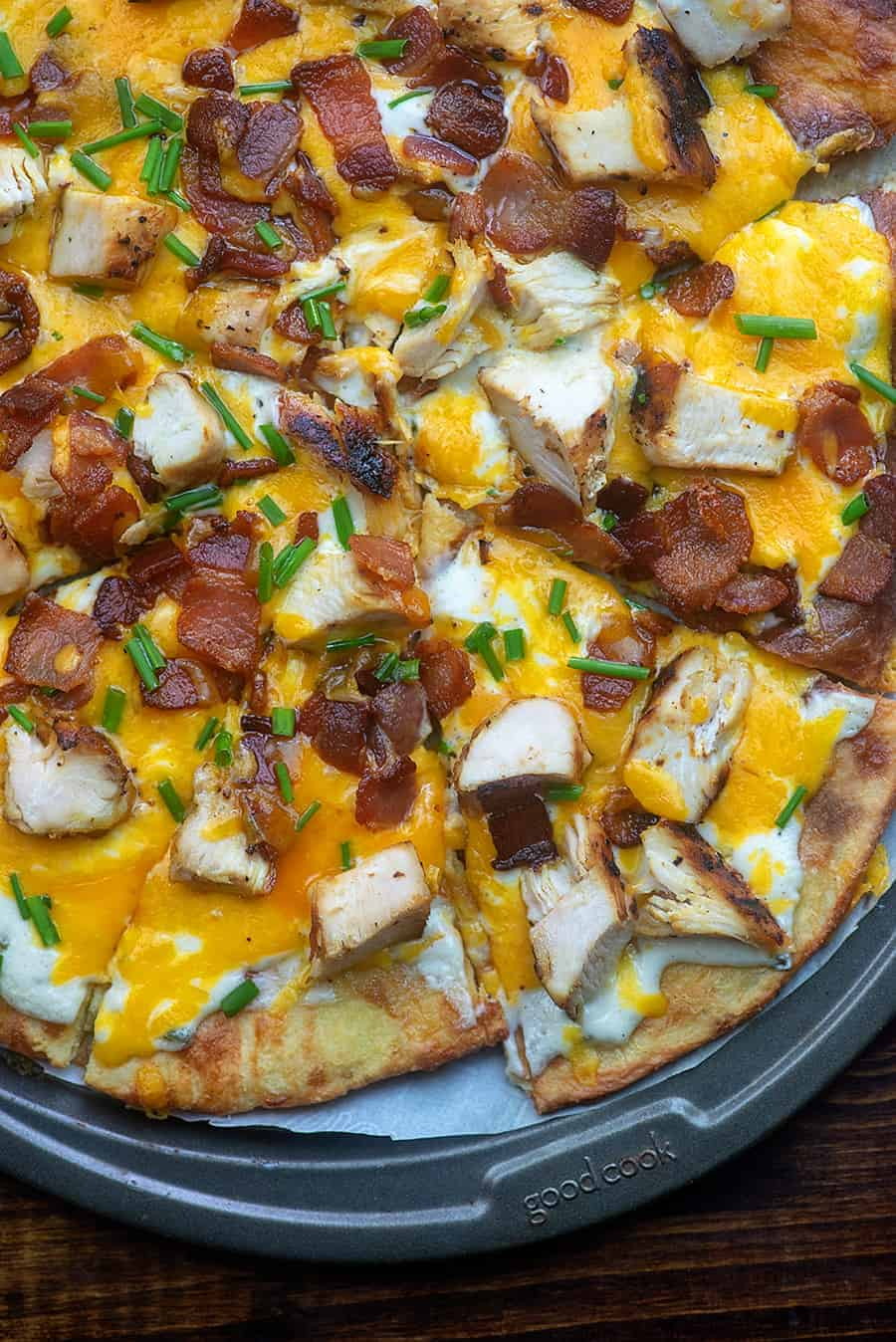 Chicken Bacon Ranch Pizza That Low Carb Life