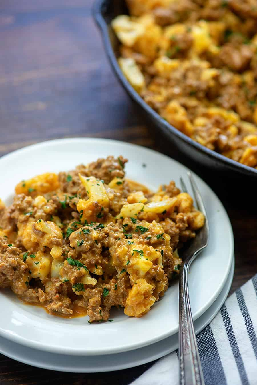 low carb cheeseburger macaroni recipe.
