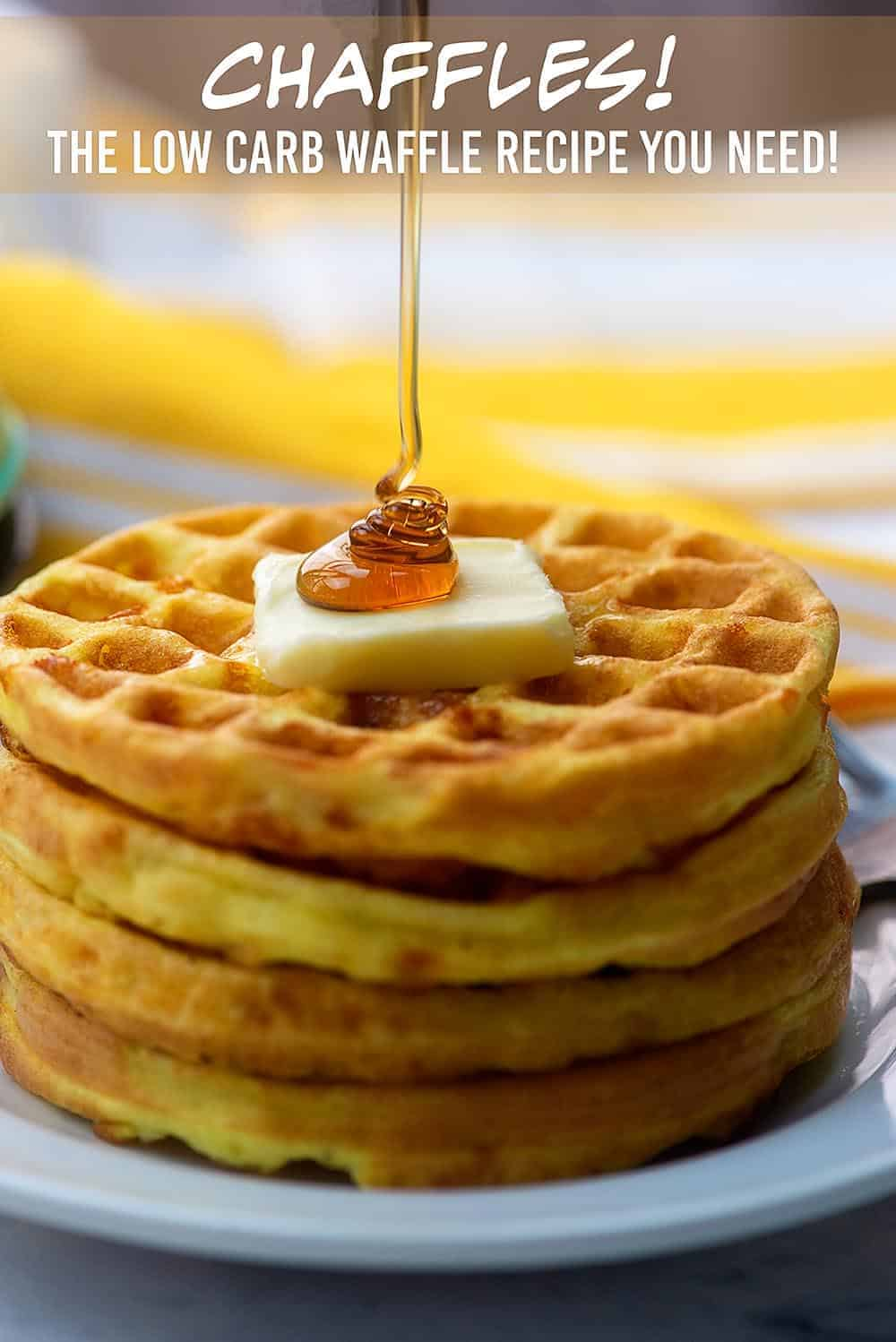 Chaffles! What they are, how to make them, and all your FAQs answered about these low carb waffles that are taking the internet by storm! #lowcarb #keto #chaffles