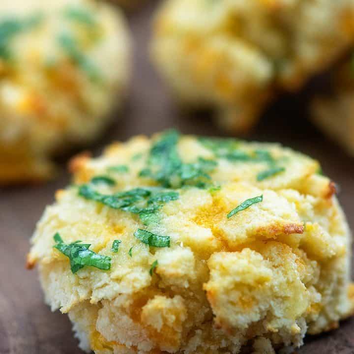Keto Cheddar Bay Biscuits