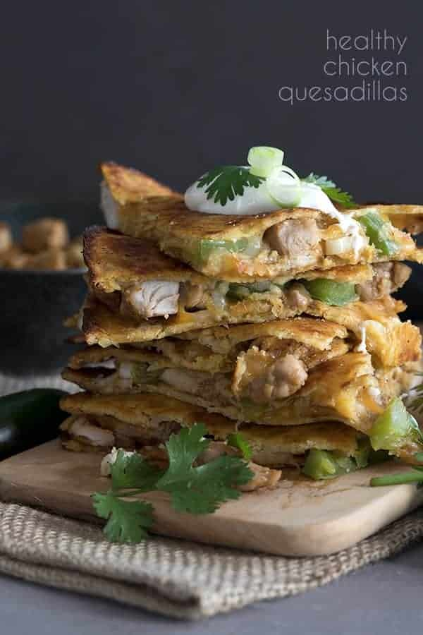 Keto Chicken Quesadillas