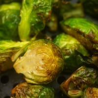Air Fryer Brussels Sprouts
