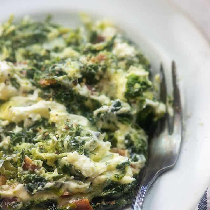 cheesy spinach recipe
