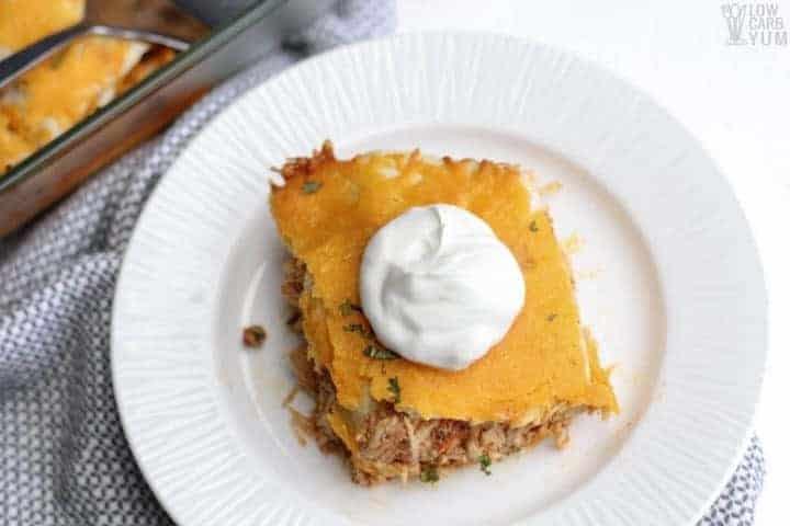 Mexican Chicken Lasagna - Gluten Free