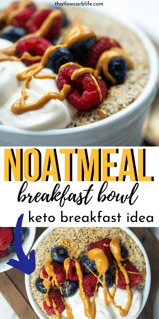 Keto Oatmeal Breakfast Bowl That Low Carb Life