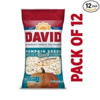 DAVID Roasted and Salted Ranch Pumpkin Seeds