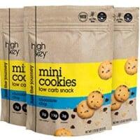 HighKey Snacks Keto Mini Low Carb Cookies