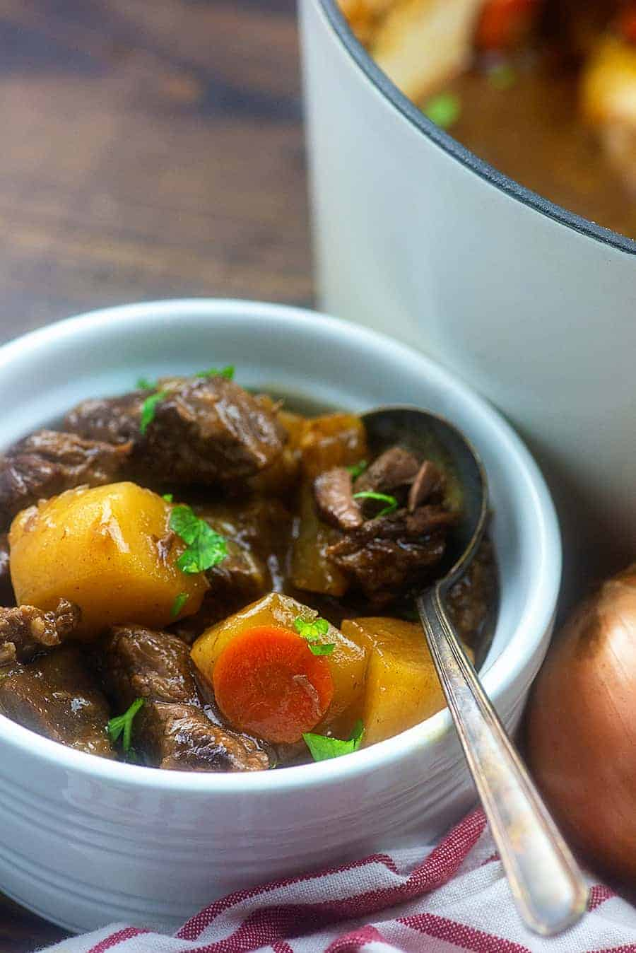 beef stew with turnips