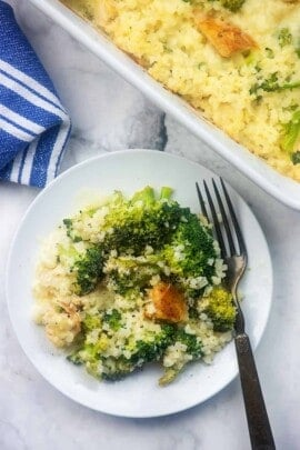 chicken broccoli alfredo casserole recipe