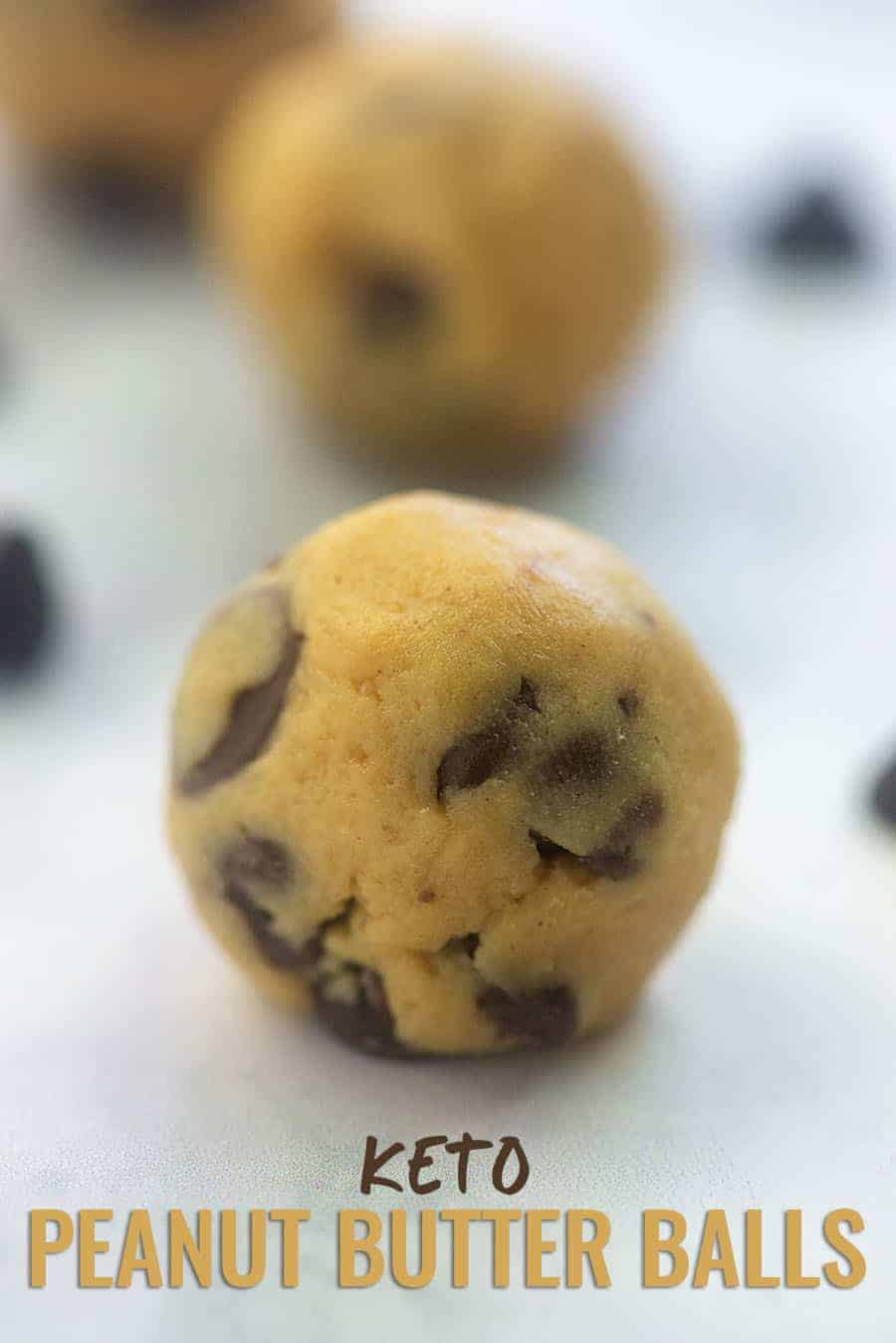 a low carb peanut butter ball