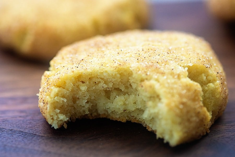 thick snickerdoodles cookies