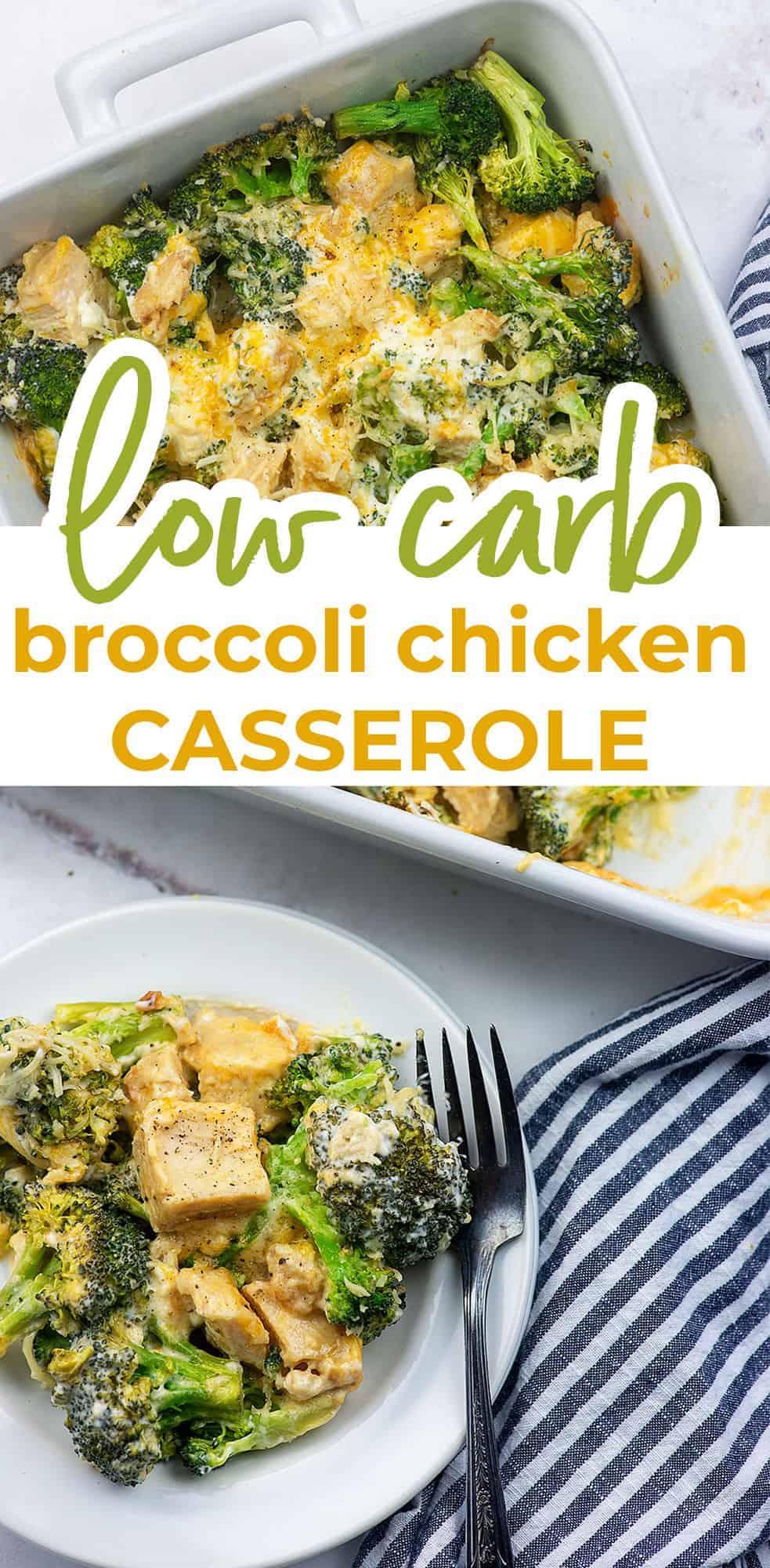 low carb broccoli casserole