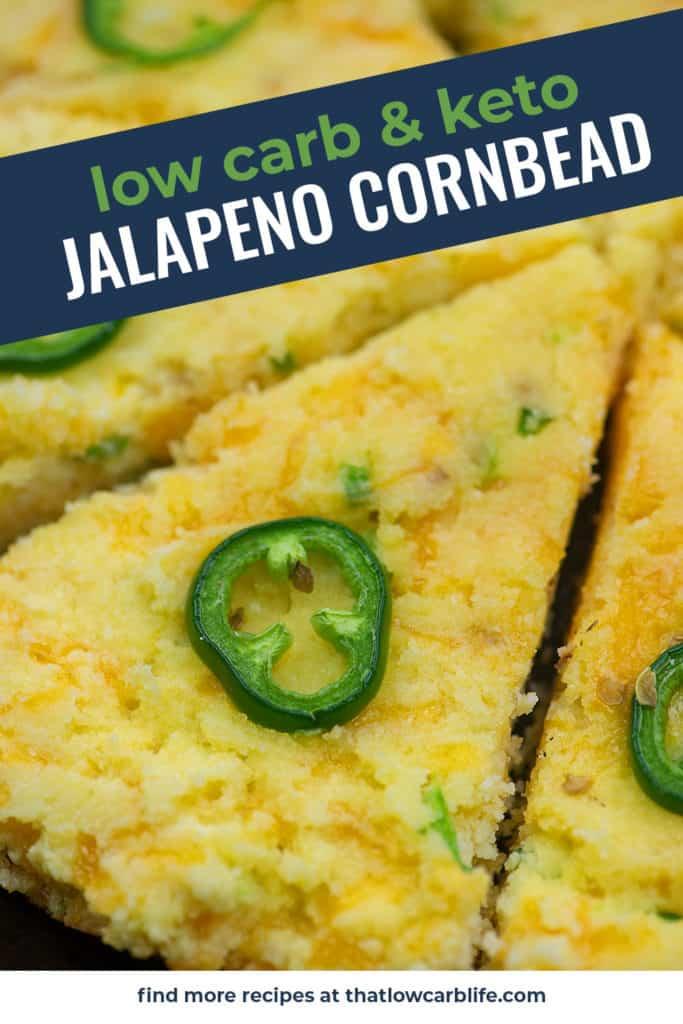 keto cornrbead with jalapeno