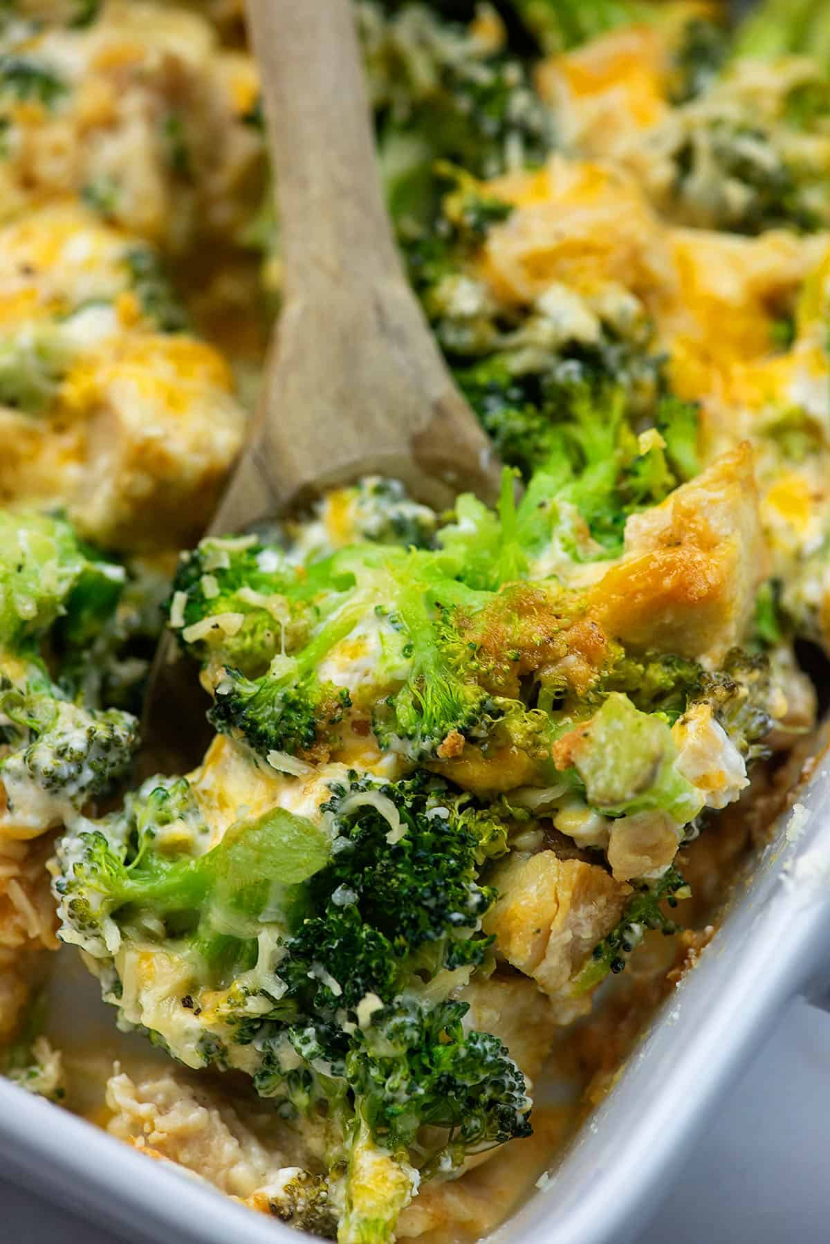 cheesy chicken broccoli casserole recipe