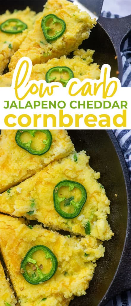 cheddar jalapeno cornbread photo collage