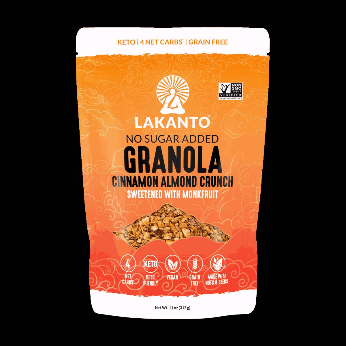 Cinnamon Almond Crunch Granola