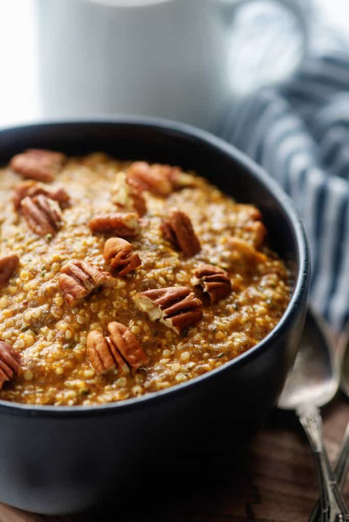 low carb pumpkin oatmeal recipe