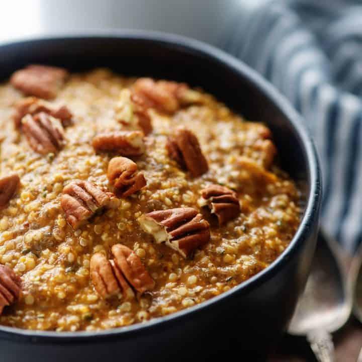 low carb pumpkin oatmeal recipe