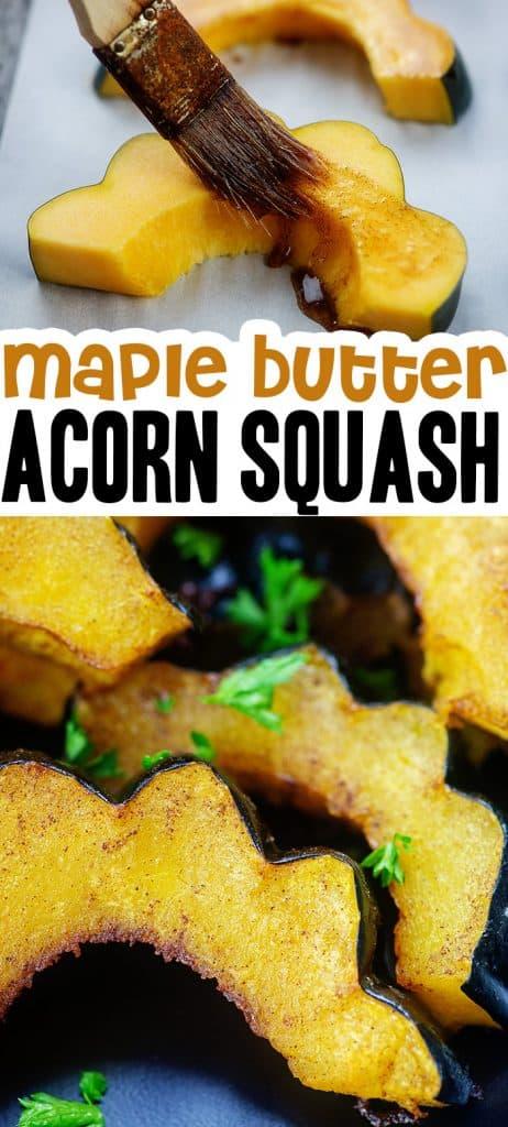 acorn squash photo collage