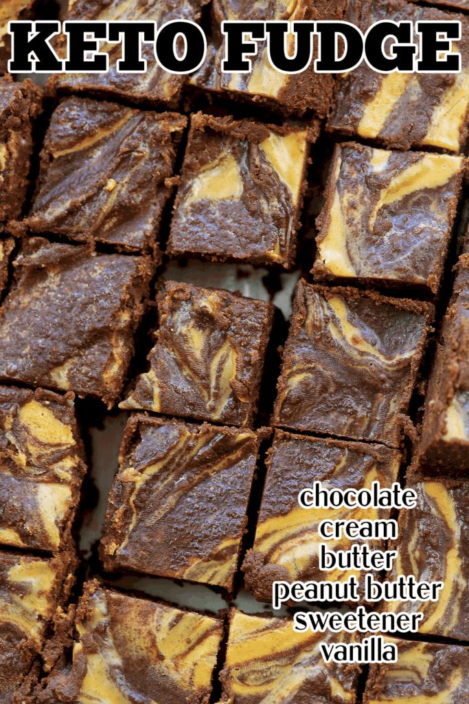 sugar free chocolate peanut butter fudge recipe.