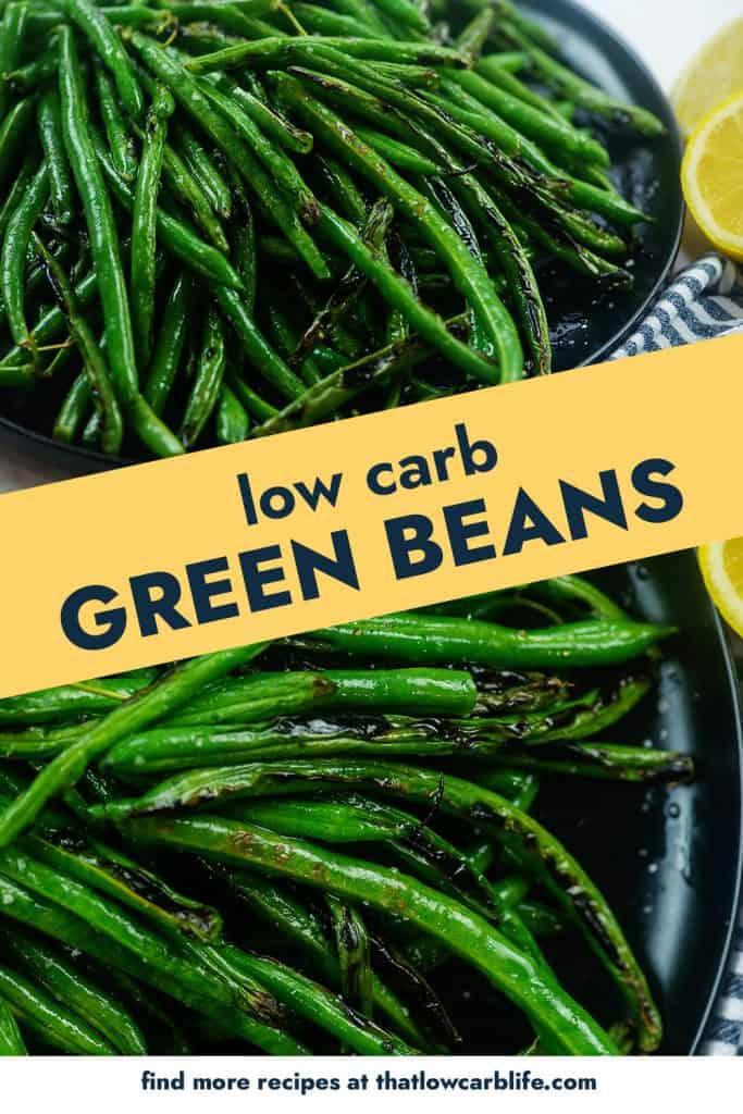 collage of green bean photos.