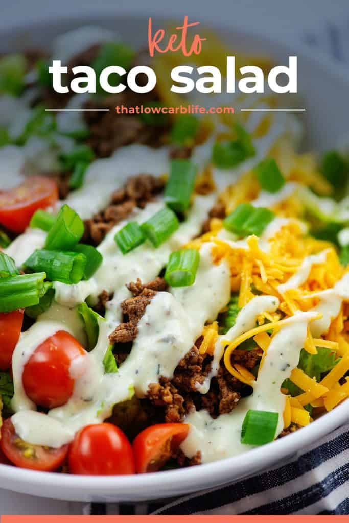 taco salad in bowl.
