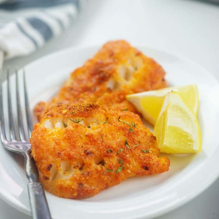 Parmesan Crusted Cod That Low Carb Life