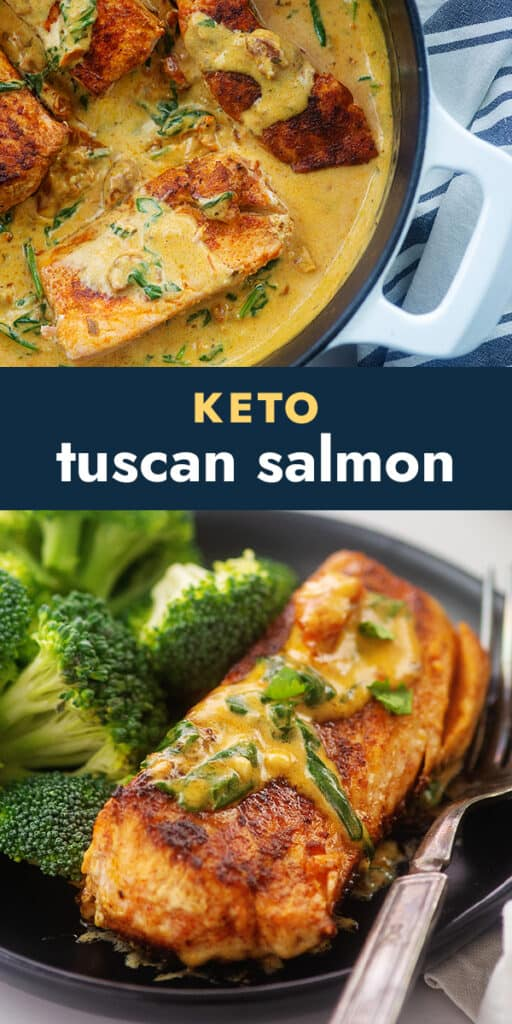 collage of salmon images.