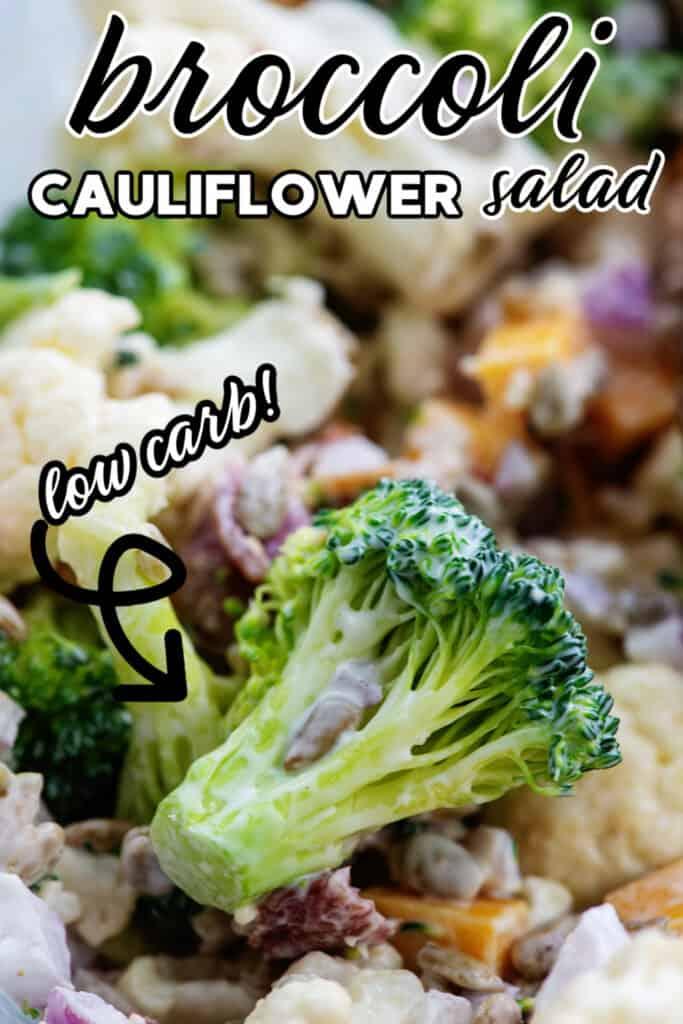 cauliflower and broccol salad recipe