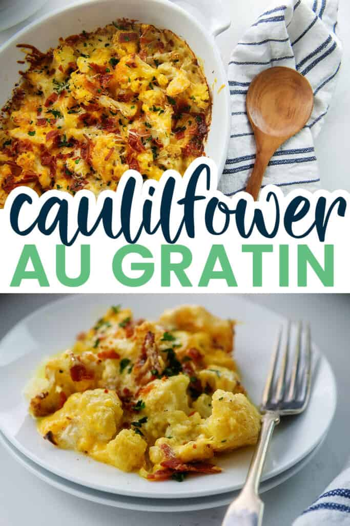 collage of cauliflower images.